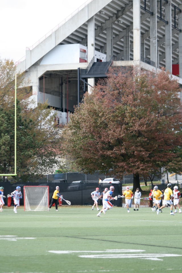 WCS Red Plays in the Shadow of Byrd Stadium at the University of Maryland